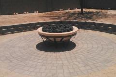 53'' fire pit sandbar color bowl